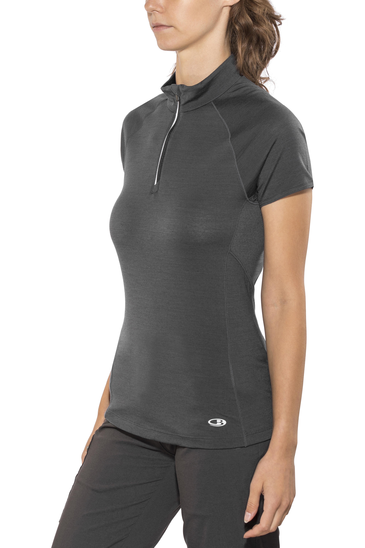 9ff7692ed29ea Icebreaker Comet Lite T-shirt manches courtes Femme, monsoon/black ...